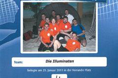 Urkunde Beachvolleyball Cup 2011 Spreeradio