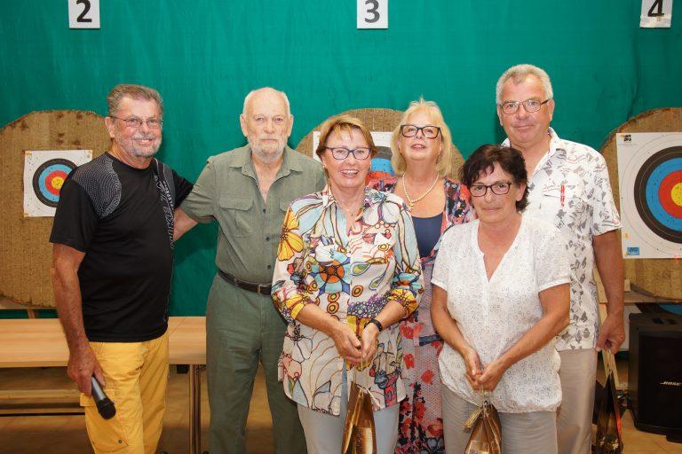 SV OSRAM Jubilare bei der Ehrung in Eichstätt 2018