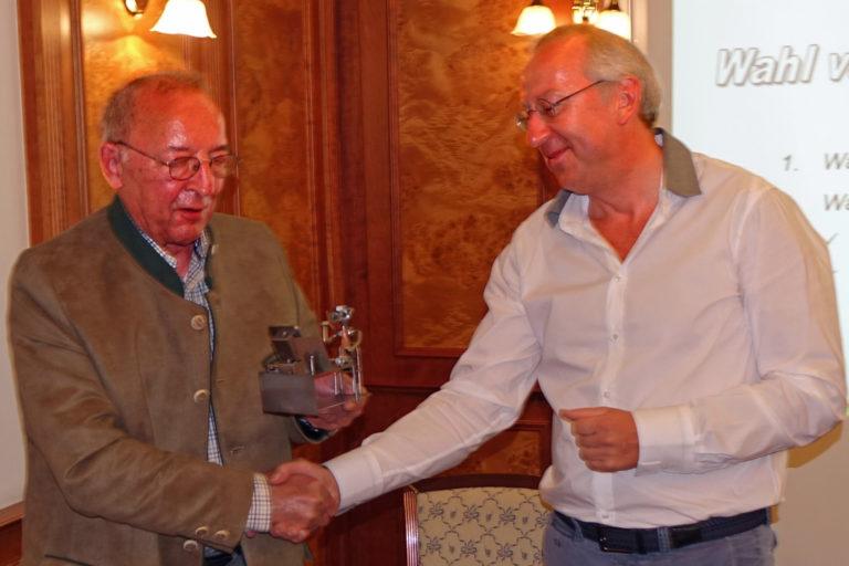Ehrenpräsident der SV OSRAM e.V. Günter Kersting