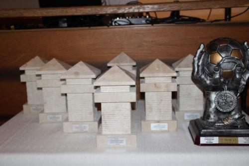 Siegerpreise SV OSRAM SoccerCup 2018 - Nachbildung eines Limesturms