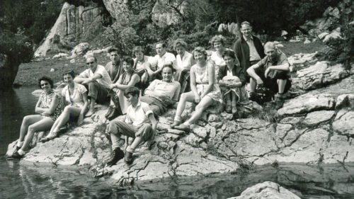 Wandern 1959 Rotwand